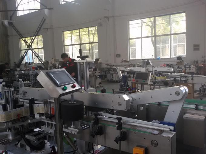 Máquina abeladora de adhesivo autoadhesivo de 350 ml para frasco redondo de 1,5 kW