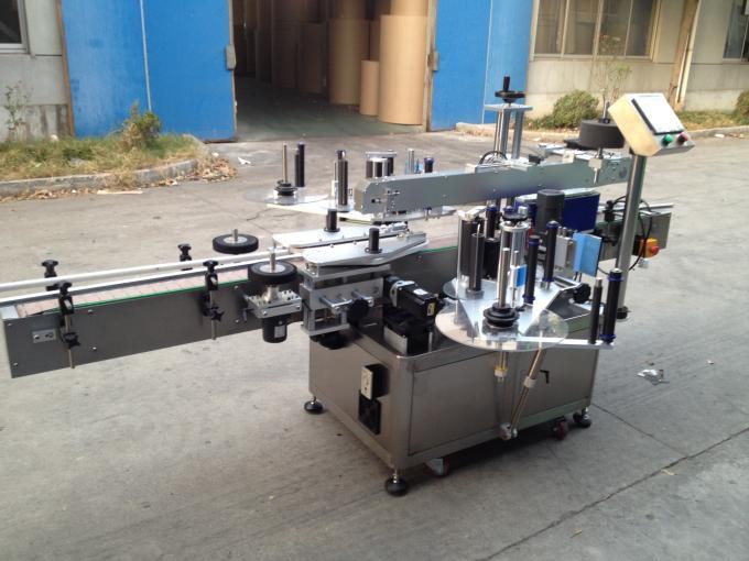 Máquina aplicadora de etiqueta de cola de fusión en frío / húmido para fonte de alimentación de botella redonda 50HZ 380V