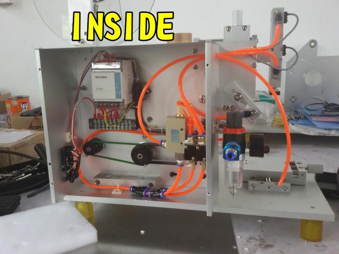 SUS304 Máquina de etiquetaxe de etiqueta dobre cara económica de aceiro inoxidable para etiquetaxe de botellas