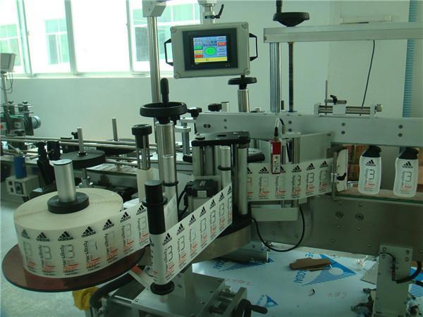 Etiqueta adhesiva para bebidas Aplicador Etiquetado de botellas Grosor da maquinaria ≥ 30 mm