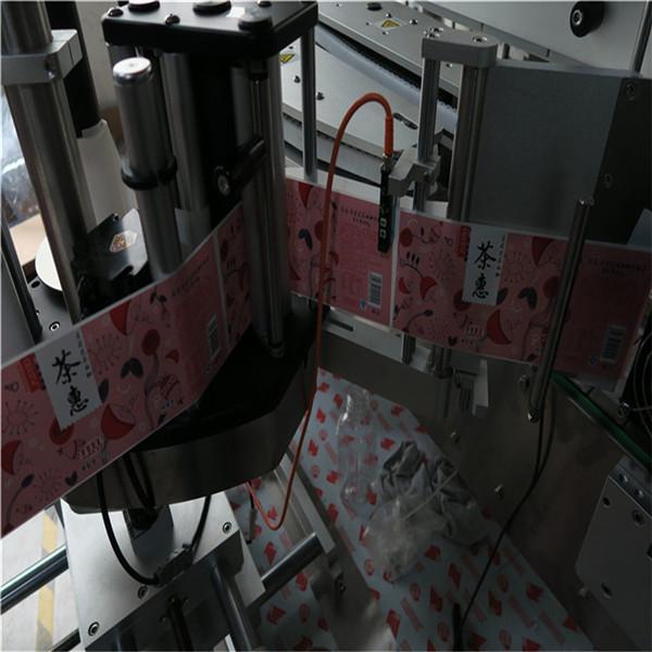 Etiquetadora de botellas redondas / Aplicador automático de etiquetas de superficie plana