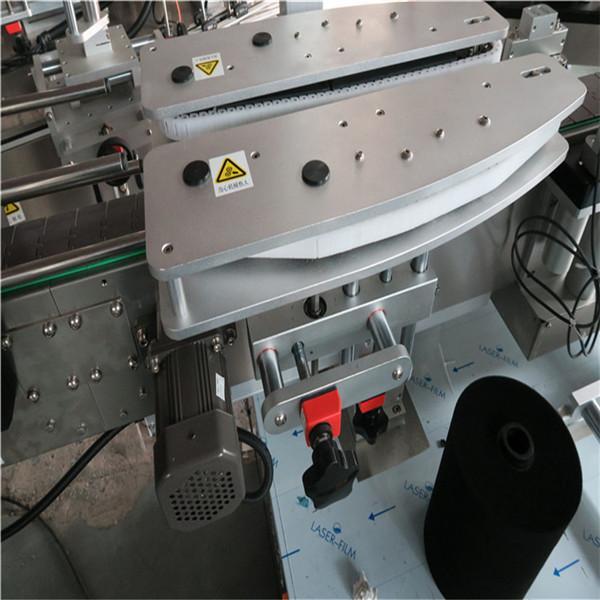 Máquina de etiquetaxe automática de botellas cadradas completa Capacidade 4000-8000 B / H