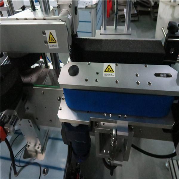 Máquina de etiquetaxe frontal e posterior de botellas diarias, máquina de etiquetaxe de botes