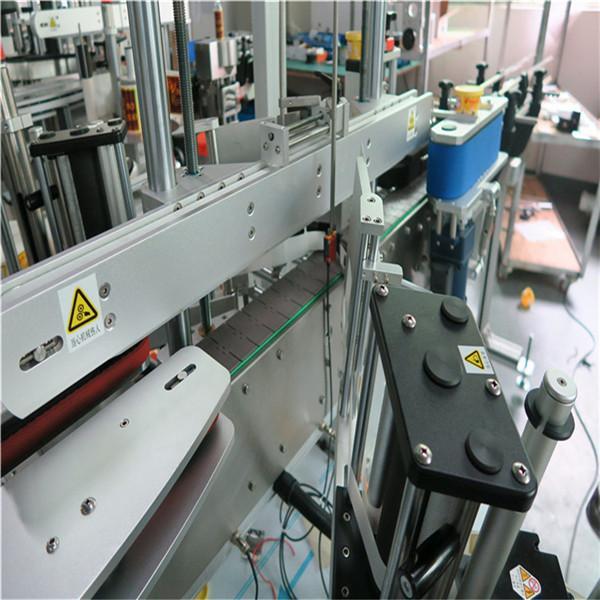 Máquina de etiquetaxe adhesiva de alta velocidade Lineal frontal / traseira / parte superior