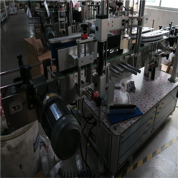 Máquina de etiquetaxe automática de botellas de zume / viño, máquina de etiquetaxe automática