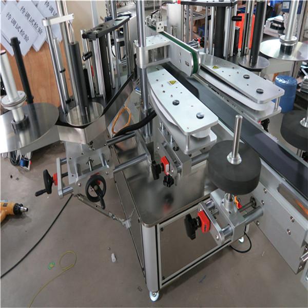 Máquina de etiquetaxe de etiquetas adhesivas para botellas de champú 30-100 mm de lonxitude do envase