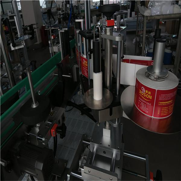 Etiqueta adhesiva automática de botellas de dúas caras Etiqueta adhesiva Etiqueta adhesiva Shampoo Wine