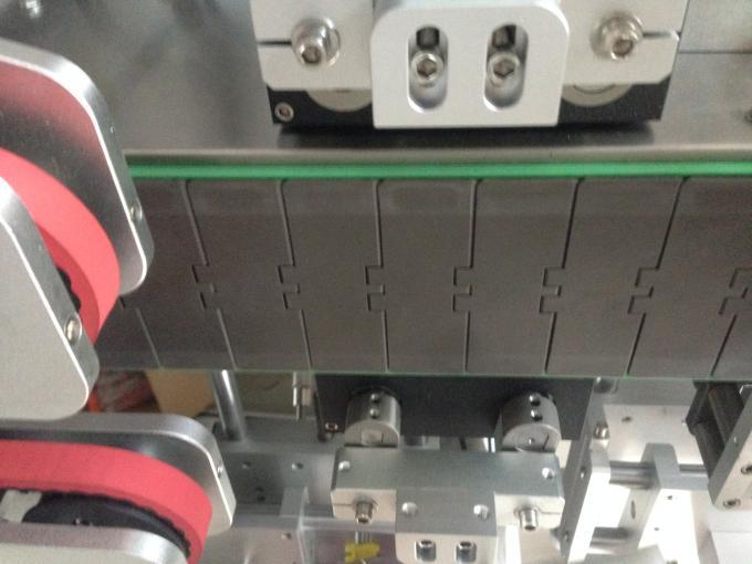 Aplicador de etiquetas adhesivas, máquina de etiquetaxe de botellas redondas de lado simple / dobre