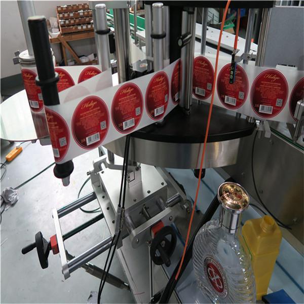 Máquina de etiquetaxe de etiquetas autoadhesivas totalmente automática a dúas caras