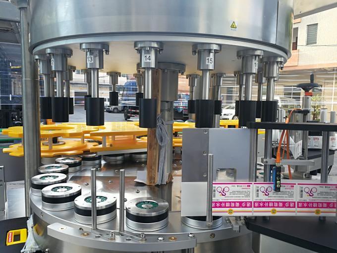 Etiquetadora de etiquetas rotativas de alta velocidade con función de rotación