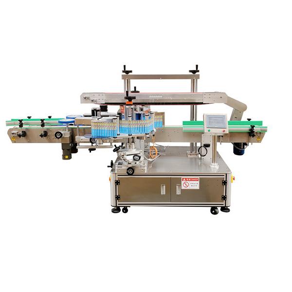 Máquina de etiquetaxe automática de dobre cara 220V 3,5Kw