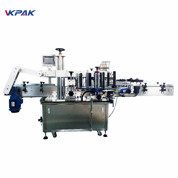 Máquina aplicadora de etiquetas automática de etiqueta de vial redonda de 350 ml