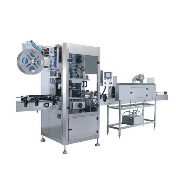 Máquina de etiquetaxe de manga retráctil de 5,5 KW