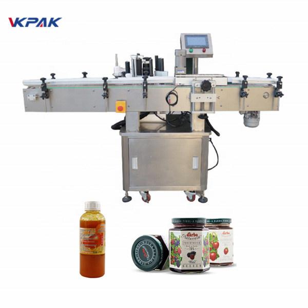 Máquina de etiquetaxe automática 50HZ Máquina aplicadora de etiquetas automática