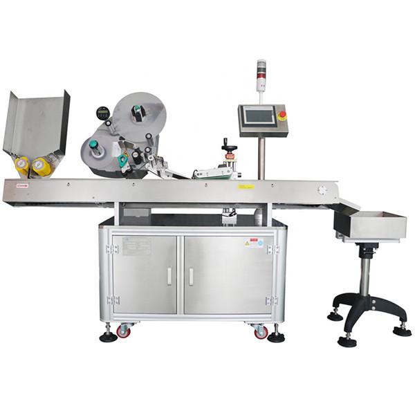 Máquina de etiquetaxe automática de botellas farmacéuticas de economía mínima de 60-500 unidades
