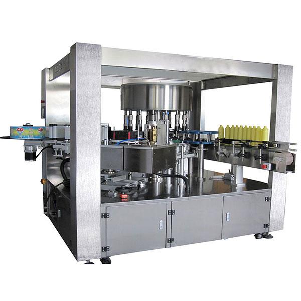 Máquina de etiquetaxe rotativa autoadhesiva monolateral de alta velocidade