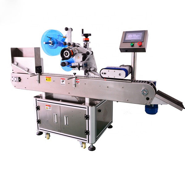 Máquina etiquetadora de botellas automática de alto nivel para botella de líquido E