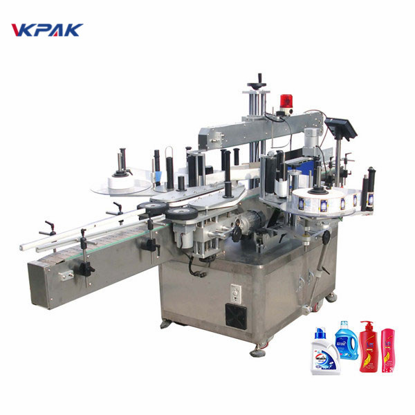 Máquina de etiquetaxe automática de botellas redondas de alta velocidade