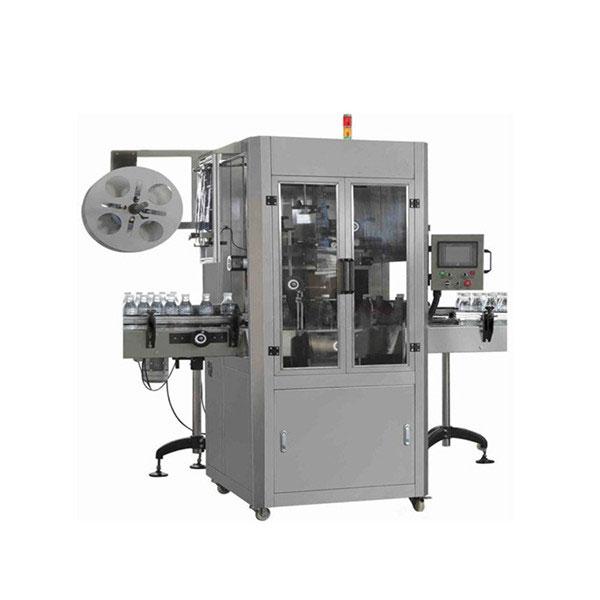 Máquina de etiquetaxe de manga retráctil automática de vasos