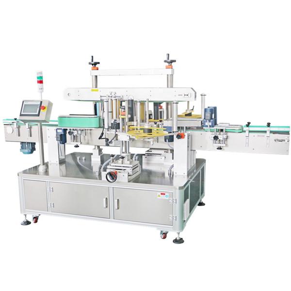 Máquina de etiquetaxe de dobre cara, máquina aplicadora de etiquetas automática