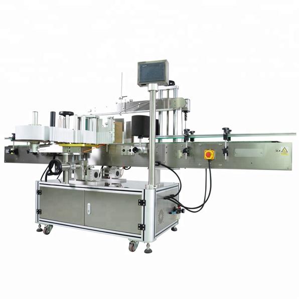Máquinas aplicadoras de etiquetas de dobre cara económicas
