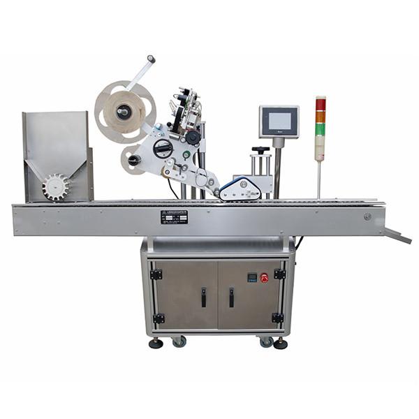 Máquina de etiquetaxe de etiquetas de vial de alta precisión para a industria farmacéutica