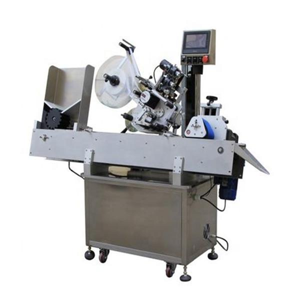 Máquina de etiquetaxe de frascos de cosméticos de alta eficiencia