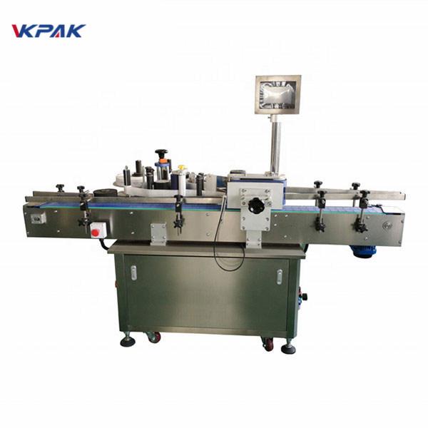 Máquina aplicadora de etiquetas económicas de alta velocidade para adhesivo autoadhesivo automático