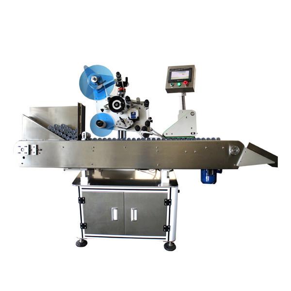 Máquina de etiquetaxe de etiqueta de botella industrial de alta velocidade