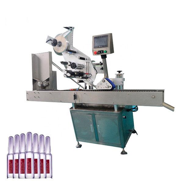Máquina de etiquetaxe automática de botellas de cosméticos de control intelixente Sus304 Economy