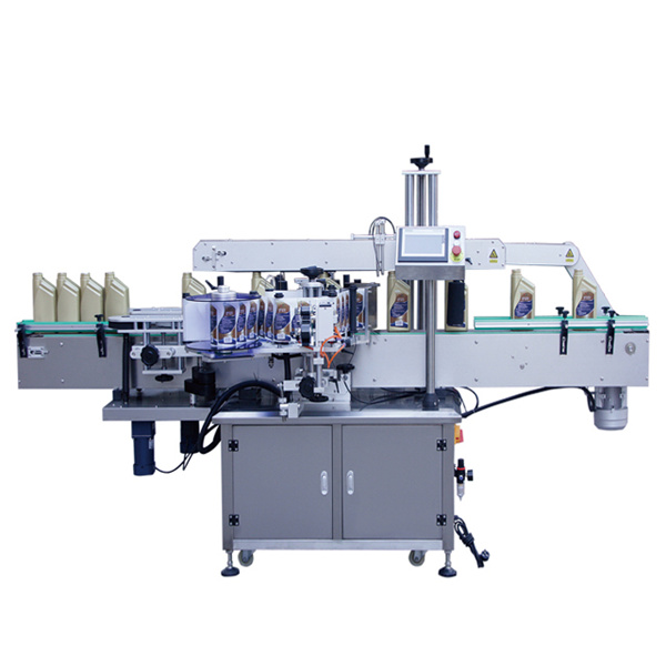 Máquina aplicadora de etiquetas para botellas