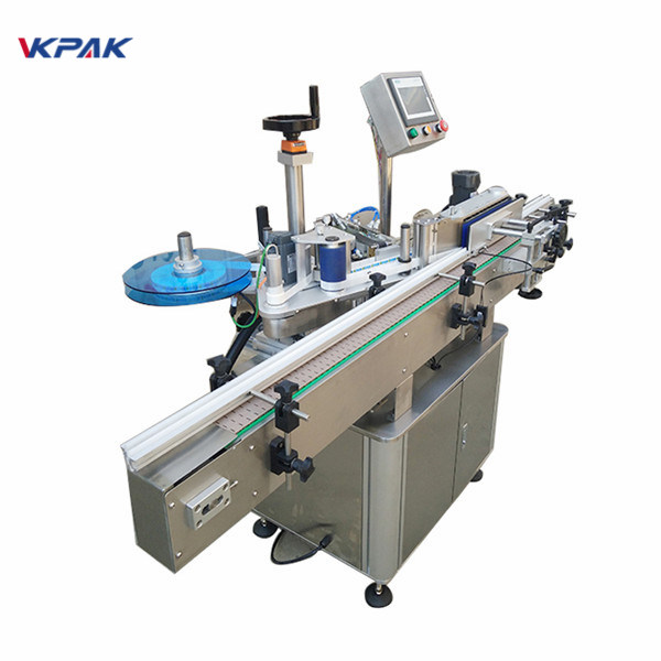 Máquina aplicadora de etiquetas para botella de auga dobre lado Prezo de fábrica