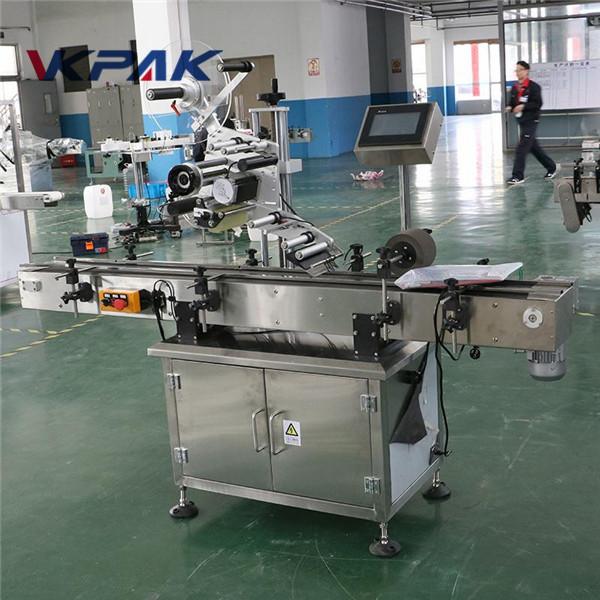 Máquina aplicadora de etiquetas multifunción para caixas, máquina de etiquetaxe automática