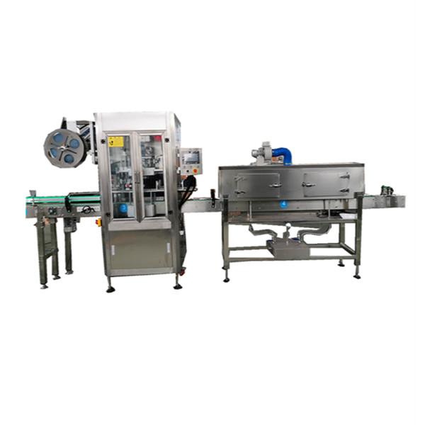 Máquina aplicadora de manga retráctil OPS para botellas