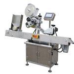 Máquina aplicadora de etiquetas de control de pantalla táctil PLC 500pcs / min de velocidade
