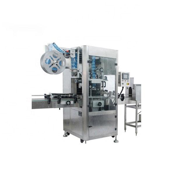 Máquina aplicadora de manga retráctil de PVC Máquina de etiqueta retráctil totalmente automática