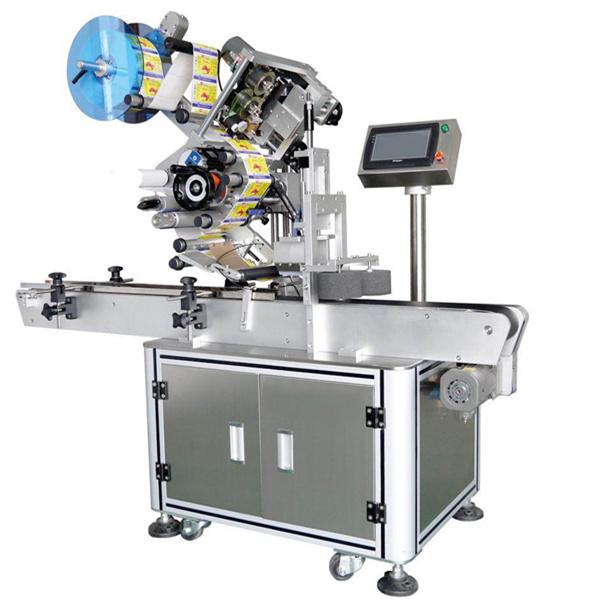 Máquina de etiquetaxe autoadhesiva de paquetización