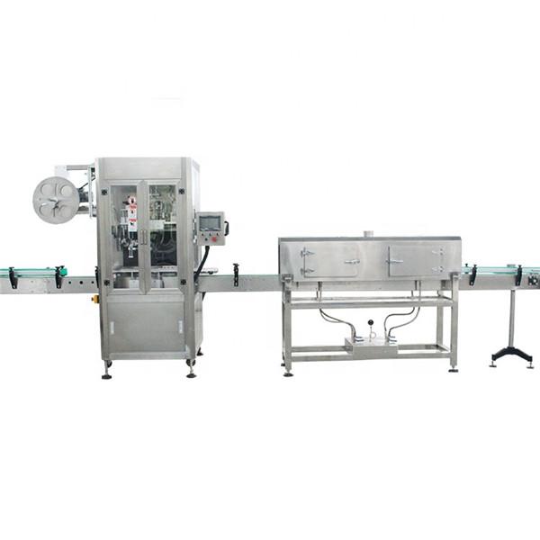Máquina de etiquetaxe de manga retráctil de copa de plástico de alta velocidade con xerador de vapor