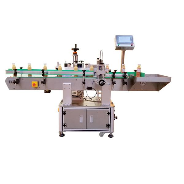 Máquina profesional de etiquetaxe de etiquetas de botellas