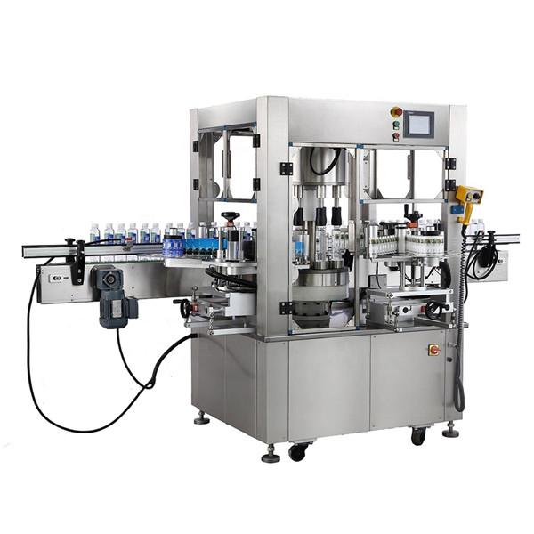 Botella redonda Etiqueta adhesiva rotativa Espesor da máquina