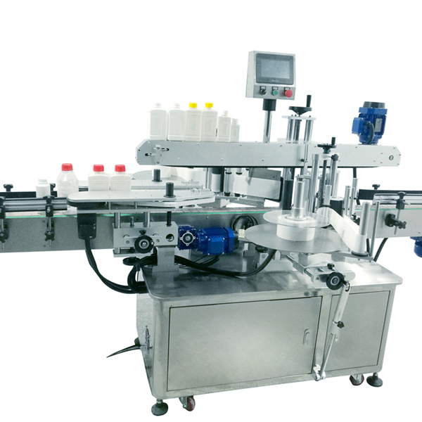 Máquina de etiquetaxe de botellas cadradas