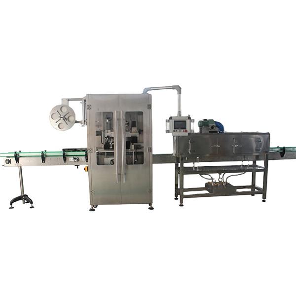 Máquina de etiquetaxe de manga retráctil de aceiro inoxidable