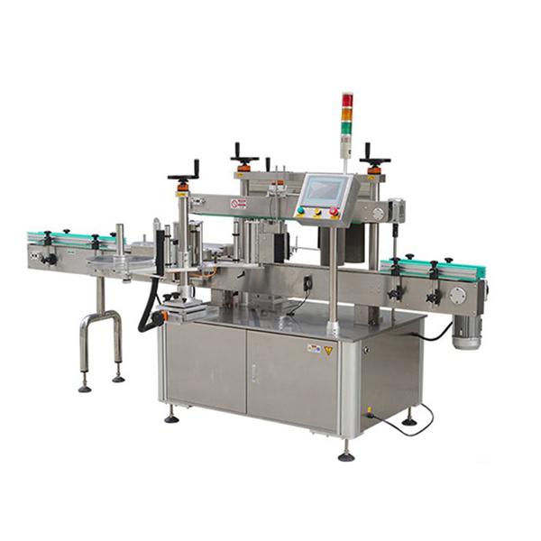 Máquina de etiquetaxe autoadhesiva de dúas caras