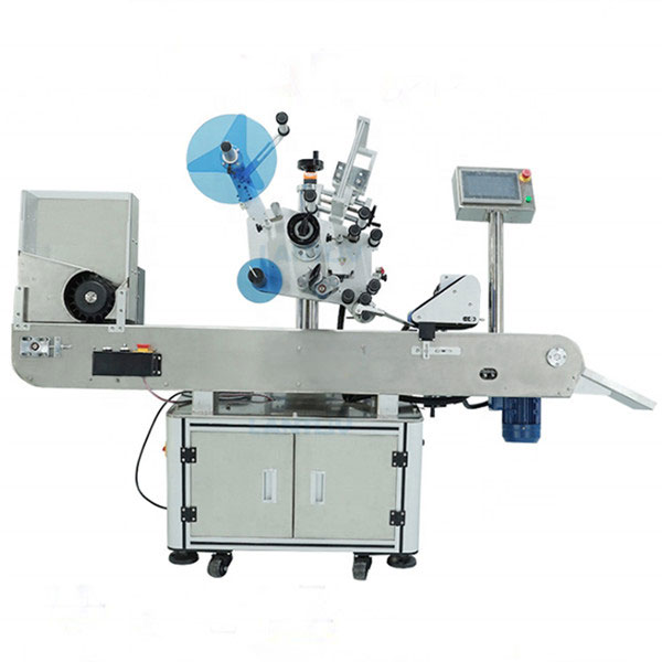 Vial máquina de etiquetaxe industrial para botellas de líquido oral
