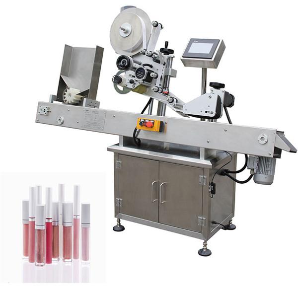 Vial máquina de etiquetaxe de botellas redondas para a industria de medicamentos
