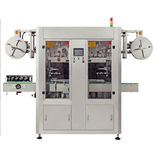 Máquina de etiquetaxe de manga retráctil