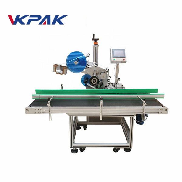 Máquina de etiquetaxe de adhesivos automáticos con resistencia ao desgaste