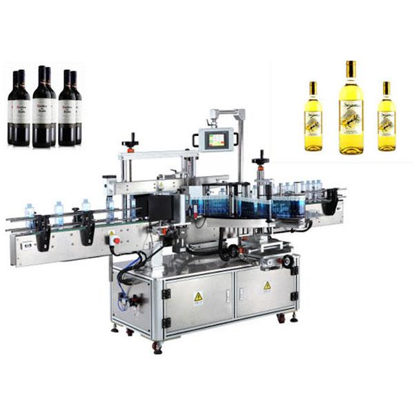 Máquina aplicadora de etiquetas de botellas de viño, etiquetadoras de botellas de cervexa