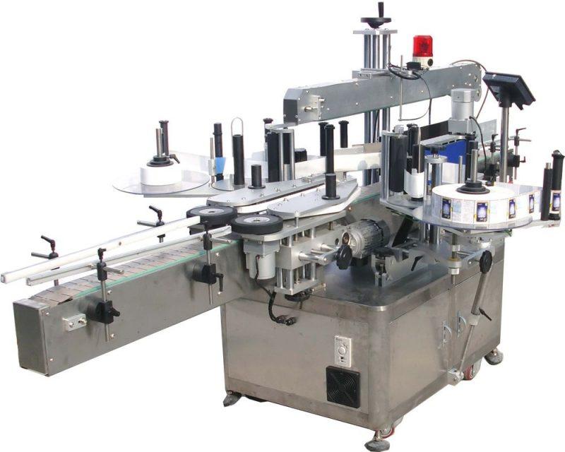 China Máquina de etiquetaxe de dobre cara automática de alta velocidade provedor de certificación CE