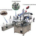 Máquina de etiquetaxe de adhesivos autoadhesivos para servomotores de alta velocidade